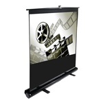 "ezCinema Portable Projection Screen 43"" x 58"" - Matte White - 72"" Diagonal"