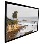 "ezFrame Fixed Frame Projection Screen 49"" x 87"" - Tension White - 100"" Diagonal"
