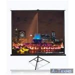 "Tripod Projection Screen 84"" x 84"" - Matte White - 119"" Diagonal"