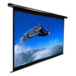 "VMAX2 VMAX110UWH2 Electric Projection Screen 54"" x 96""- Black Casing - Max White - 110"" Diagonal"