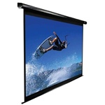 "VMAX2 Electric Projection Screen Matte White-Black Casing - 121"" Diagonal"