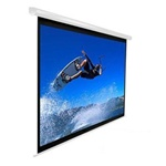 "VMAX2 Electric Projection Screen 90"" x 120"" - Matte White-White Casing - 150"" Diagonal"