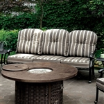 Fernanda 6 Piece Patio Set in Antique Black by Furniture of America - FOA-CM-OS2124