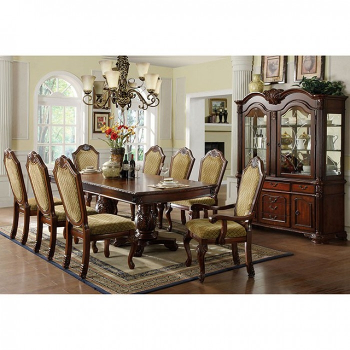 Furniture Of America Dubelle 7 Piece Formal Dining Set: Napa Valley 7 Piece Formal Dining Room Set By Furniture Of