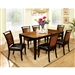 Salida I 7 Piece Dining Room Set by Furniture of America - FOA-CM3034T