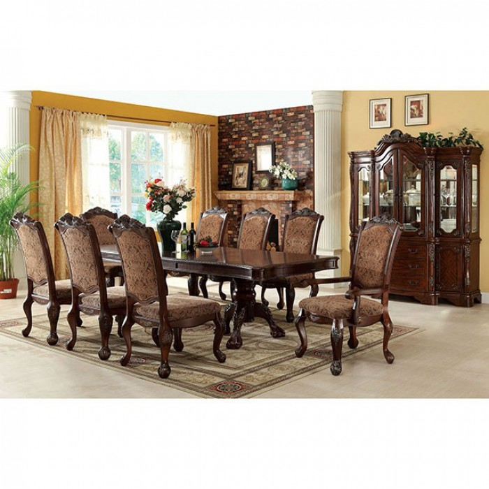 Formal Dining Room Furniture Manufacturers: Cromwell 7 Piece Formal Dining Room Set By Furniture Of