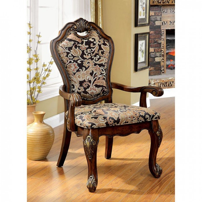 Traditional Dining Room Sets: Vicente 7 Piece Formal Dining Room Set By Furniture Of