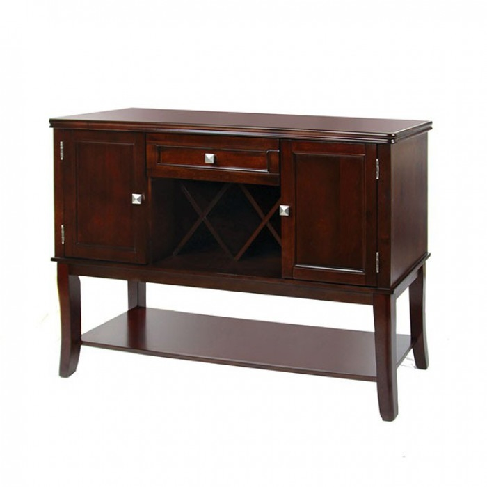 Edgewood i server by furniture of america foa cm3336sv for Vs furniture america