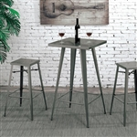 Timon 3 Piece Bar Table Dining Set by Furniture of America - FOA-CM3504BC-26