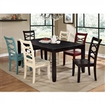 Giselle 7 Piece Dining Room Set by Furniture of America - FOA-CM3528T