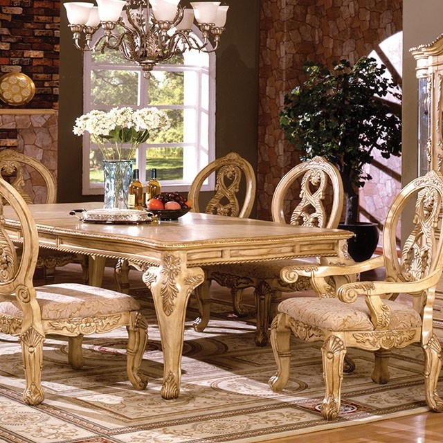 Furniture Of America Dubelle 7 Piece Formal Dining Set: Tuscany II 7 Piece Formal Dining Room Set By Furniture Of