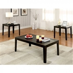 Tamar 3 Piece Occasional Table Set in Espresso by Furniture of America - FOA-CM4310-3PK