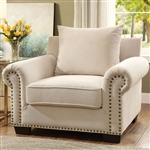 Skyler Chair in Ivory by Furniture of America - FOA-CM6155-CH