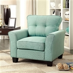 Claire Chair in Blue by Furniture of America - FOA-CM6266BL-CH