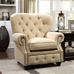 Stanford Chair in Ivory by Furniture of America - FOA-CM6269IV-CH