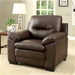 Parma Chair in Brown by Furniture of America - FOA-CM6324BR-CH