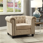 Winifred Chair in Ivory by Furniture of America - FOA-CM6342IV-CH
