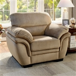Jaya Chair in Light Brown by Furniture of America - FOA-CM6503LB-CH