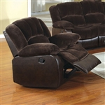 Winchester Recliner in Brown by Furniture of America - FOA-CM6556CP-C
