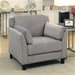 Ysabel Chair in Warm Gray by Furniture of America - FOA-CM6716GY-CH