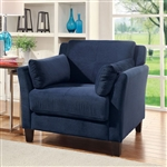 Ysabel Chair in Navy by Furniture of America - FOA-CM6716NV-CH
