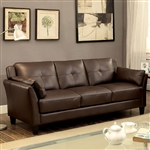 Pierre Sofa in Brown by Furniture of America - FOA-CM6717BR-SF