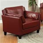 Pierre Chair in Mahogany Red by Furniture of America - FOA-CM6717RD-CH