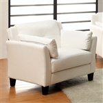 Pierre Chair in White by Furniture of America - FOA-CM6717WH-CH