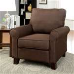 Hensel Chair by Furniture of America - FOA-CM6760BR-CH