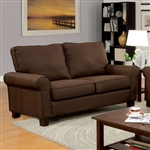 Hensel Love Seat by Furniture of America - FOA-CM6760BR-LV