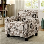 Liana Chair in Beige Pattern by Furniture of America - FOA-CM6792PA-CH