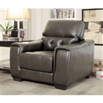 Randa Chair in Dark Gray by Furniture of America - FOA-CM6797-CH