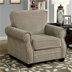 Lynne Chair in Brown by Furniture of America - FOA-CM6818-CH