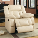 Barbado Glider Recliner in Ivory by Furniture of America - FOA-CM6827-CH