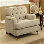 Laney Chair in Beige by Furniture of America - FOA-CM6863-CH