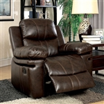 Listowel Chair in Brown by Furniture of America - FOA-CM6992-CH