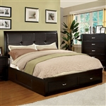 Enrico III Bed by Furniture of America - FOA-CM7066EX-B