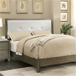 Enrico I Bed by Furniture of America - FOA-CM7068GY-B