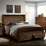 Elkton Bed by Furniture of America - FOA-CM7072-B