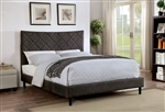 Estarra Bed in Gray Finish by Furniture of America - FOA-CM7073GY-B