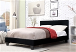 Sims Bed in Black Finish by Furniture of America - FOA-CM7078BK-B