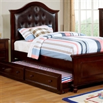 Olivia Bed by Furniture of America - FOA-CM7155EX-B