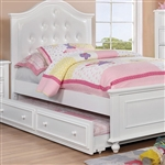 Olivia Bed by Furniture of America - FOA-CM7155WH-B
