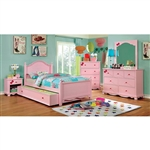 Dani 4 Piece Youth Bedroom Set by Furniture of America - FOA-CM7159PK