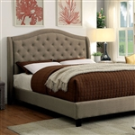 Carly Bed by Furniture of America - FOA-CM7160-B
