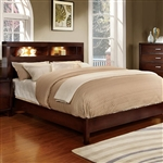 Gerico I Bed by Furniture of America - FOA-CM7290CH-B
