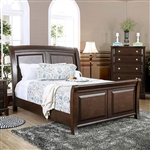 Litchville Bed by Furniture of America - FOA-CM7383-B