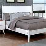 Lennart II Bed by Furniture of America - FOA-CM7386WH-B