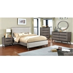 Lennart Bed by Furniture of America - FOA-CM7387GY-B