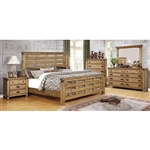 Avantgarde 6 Piece Bedroom Set by Furniture of America - FOA-CM7448